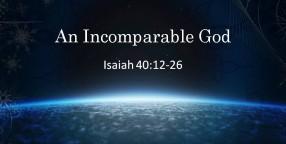 121223 An Incomparable God