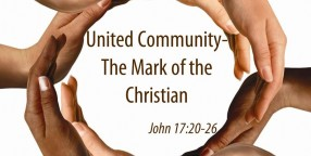 141123 AM - United Community-The Mark of the Christian