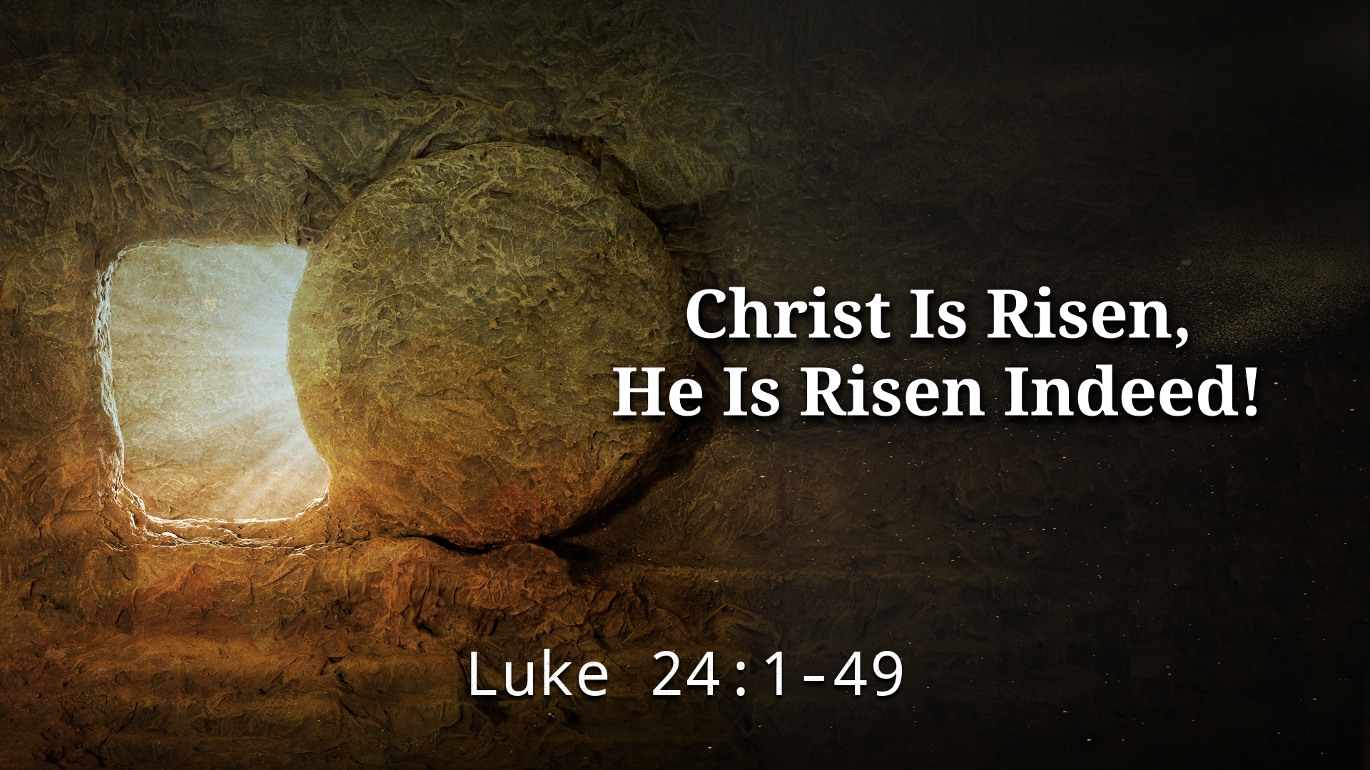 Image for the sermon Christ Is Risen, He Is Risen Indeed!