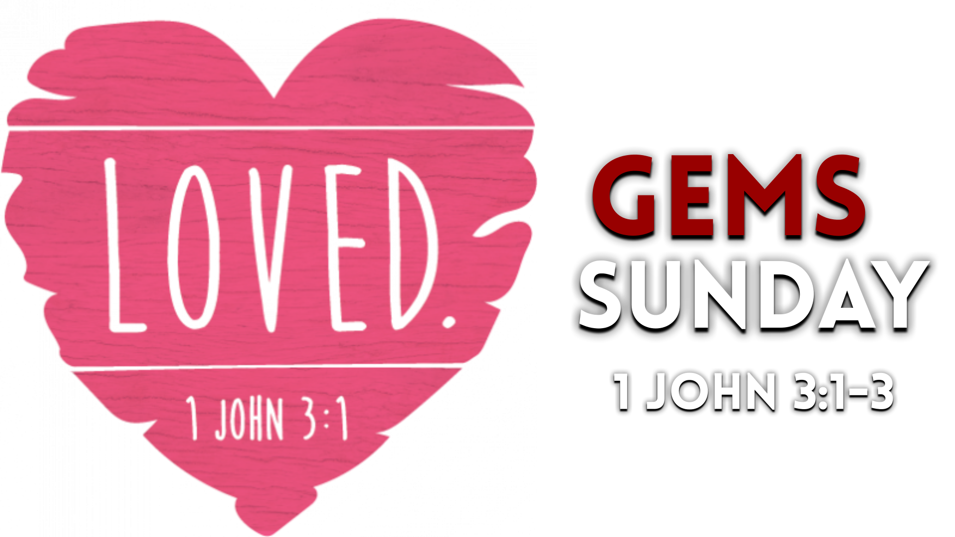 Image for the sermon LOVED.