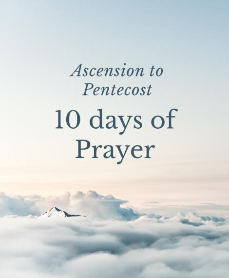 Image for the event Ascension to Pentecost – 10 days of Prayer