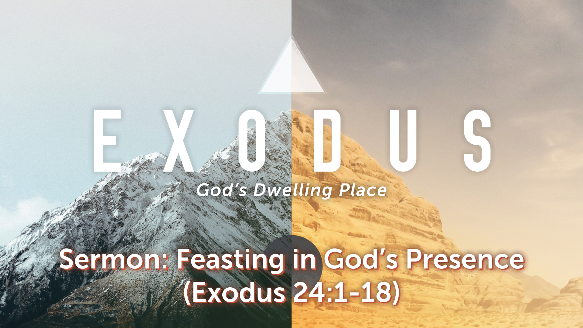 Image for the sermon Feasting in God's Presence