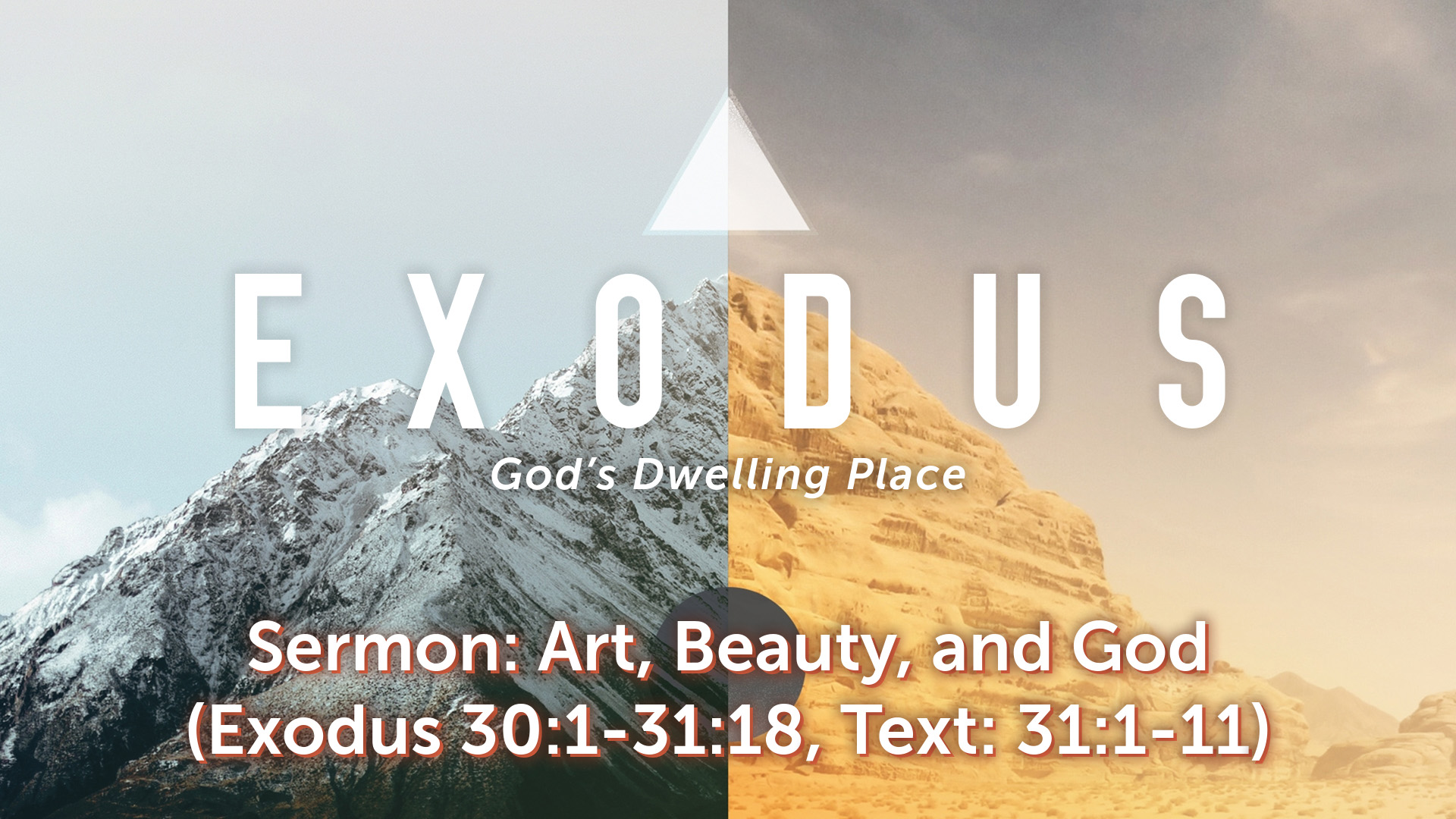 Image for the sermon Art, Beauty, and God