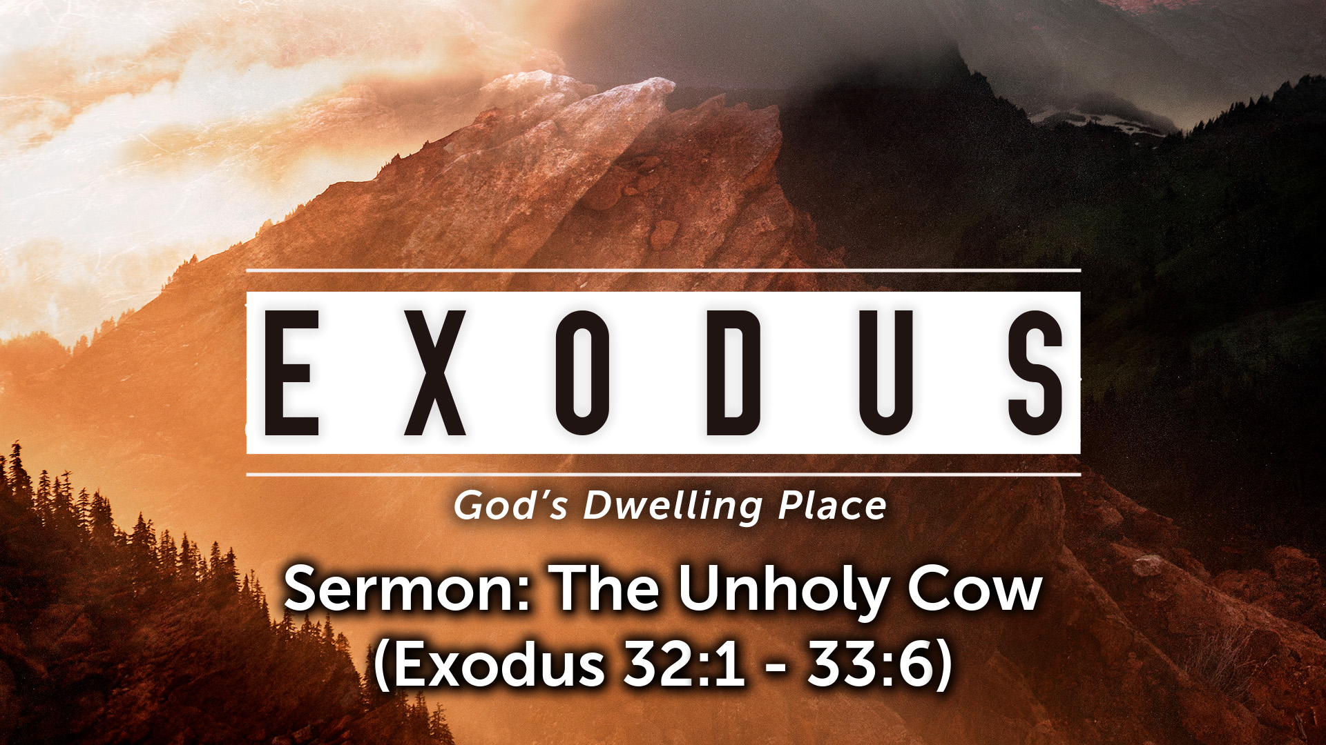 Image for the sermon The Unholy Cow