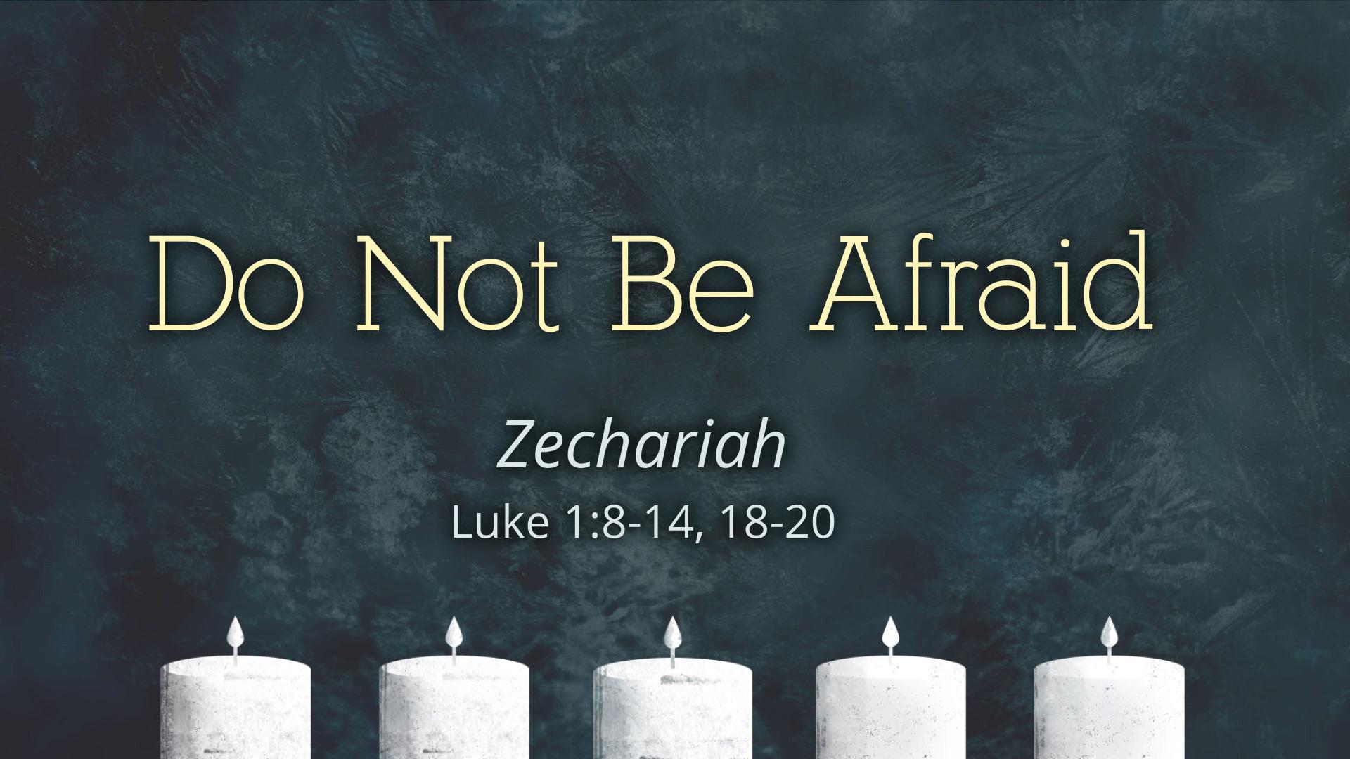 Image for the sermon Zechariah