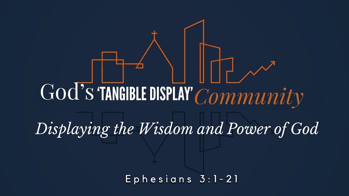 Image for the sermon Displaying the Wisdom and Power of God