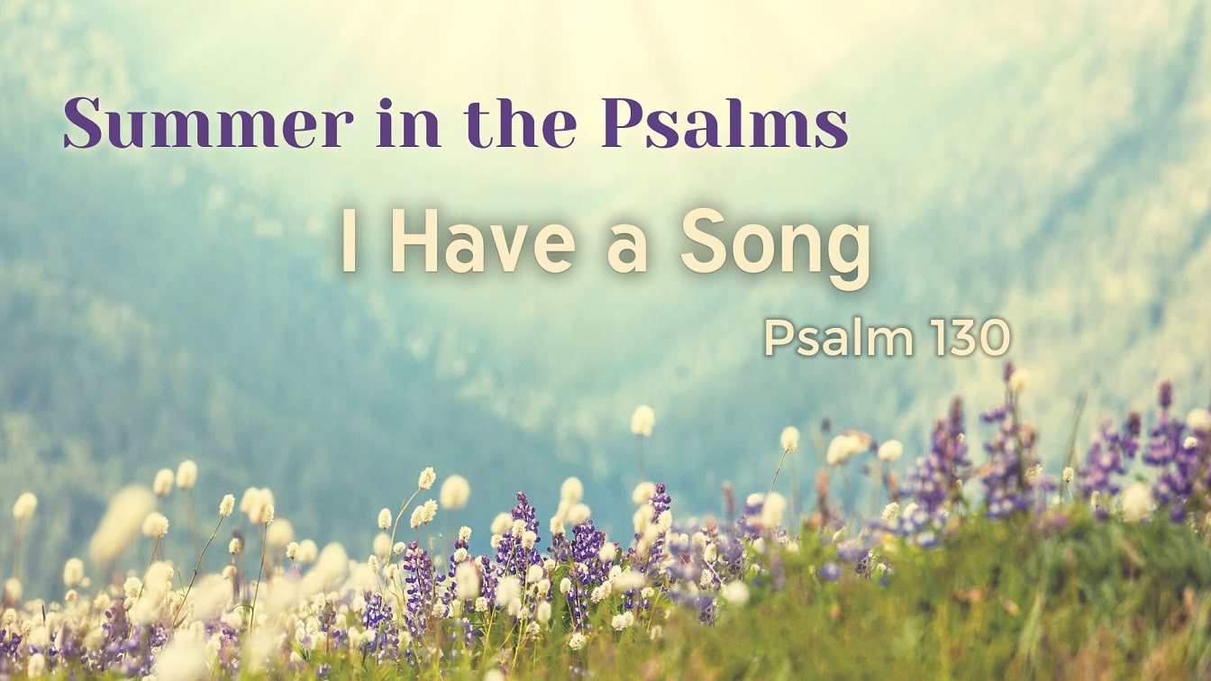 Image for the sermon I Have a Song