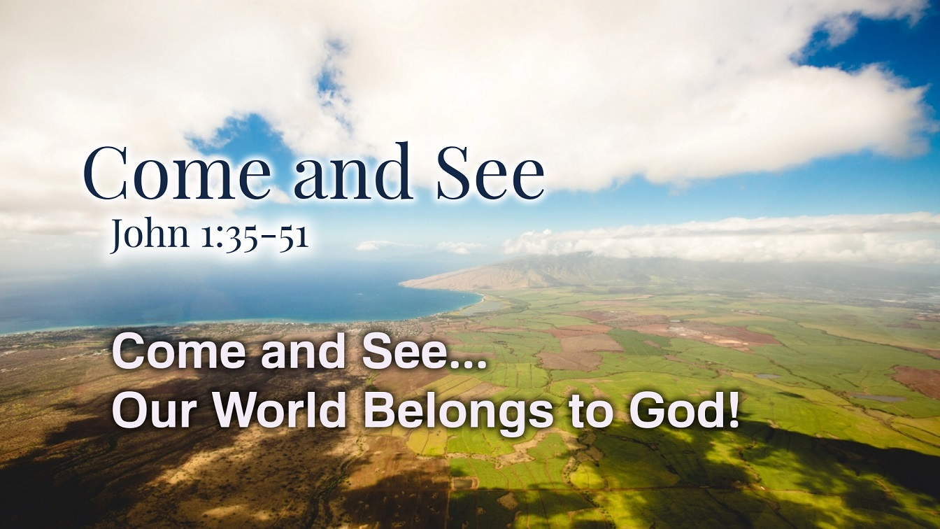 Image for the sermon Come and See… Introduction to Fall Series – Part 1