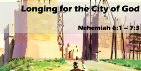 Longing for the City of God