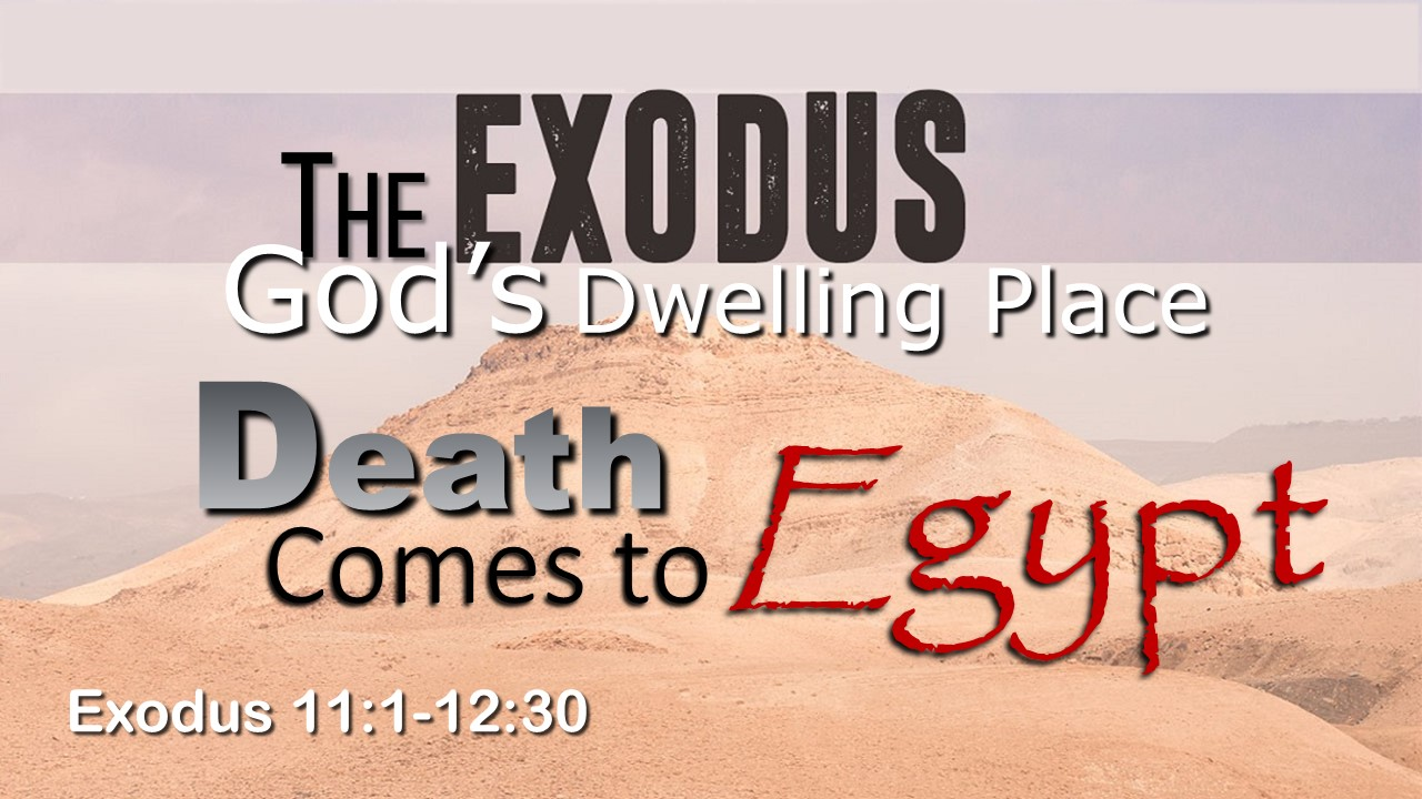 Image for the sermon Death Comes to Egypt