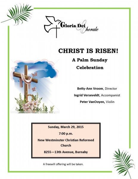 Palm Sunday Poster 2015 New West CRC