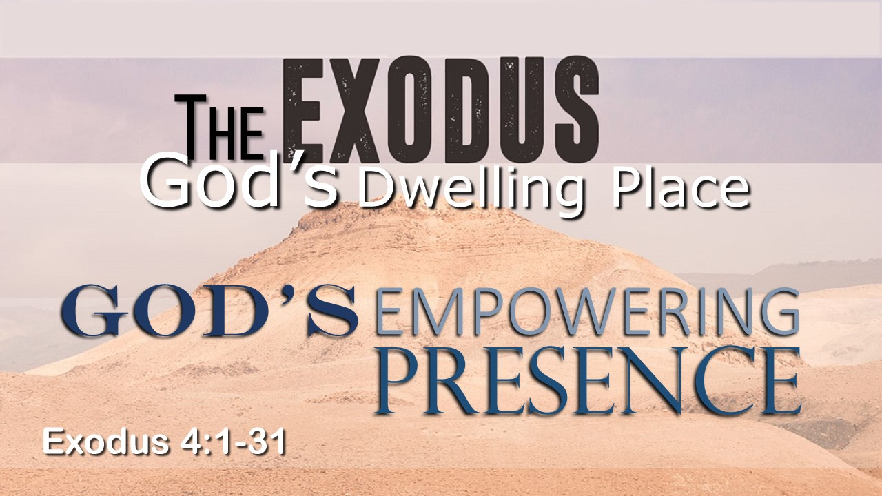 Image for the sermon God's Empowering Presence