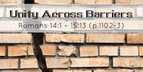 Unity Across Barriers